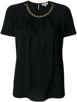 MICHAEL Michael Kors chain neck T-shirt