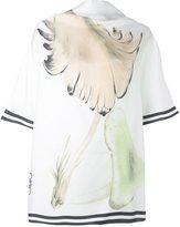 Loewe mushroom print blouse