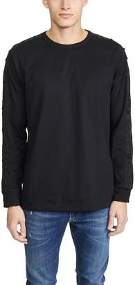 Diesel Long Sleeve T-JUST-LS-BX3 Pullover