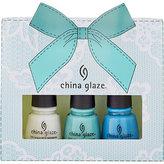 China Glaze Blue Gift 3pc