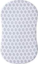 Halo Innovations Halo Bassinest Cotton Muslin Fitted Sheet - Grey Leaf