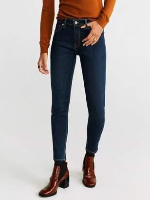MANGO Sculpt Skinny Jeans - Blue