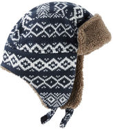 Osh Kosh Fair Isle Trapper Hat