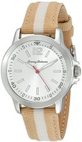 Tommy Bahama RELAX Women's 10022440 Island Breeze (Air) Stainless Steel Watch with Beige Nylon Band