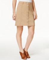 G.h. Bass & Co. Button-Front Skirt