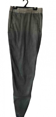 Rick Owens Khaki Denim - Jeans Skirt for Women