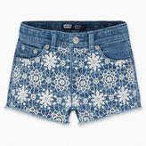 Levi's Little Girls (4-6x) Girls (4-6x) Crochet Shorty Shorts
