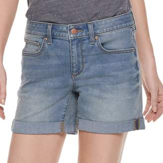 Sonoma Goods For Life Women's SONOMA Goods for Life Cuffed Jean Shorts