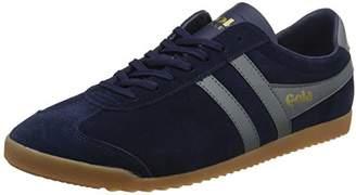 Gola Men Bullet Suede Low-Top Sneakers, Blue (Navy/Ash/Gum Dg Grey), ( 40 EU)