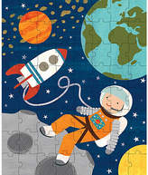 One Kings Lane Into Space Puzzle Tin & Coin Bank - Orange