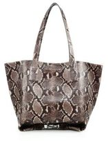 Marc Jacobs Wingman Snake-Embossed Leather Tote