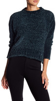 Romeo & Juliet Couture Long Sleeve Chenille Knit Pullover