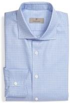 Canali Men's Regular Fit Check Dress Shirt