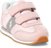 Ralph Lauren Toddler Zuma Microfiber Ez Sneaker