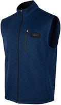 Greg Norman For Tasso Elba Heathered Zip Vest, Only at Macy's