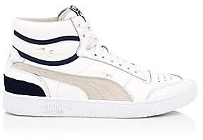 Puma Men's Ralph Sampson Leather High-Top Sneakers