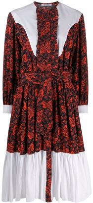 Batsheva printed cotton dress