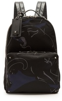 Valentino Panther-print Backpack