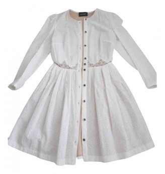 The Kooples Spring Summer 2019 White Cotton Dresses