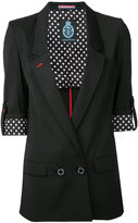 GUILD PRIME double breasted blazer - women - Polyester/Polyurethane/Rayon - 34