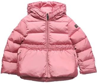 Il Gufo Hooded Nylon Down Jacket