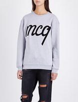 McQ by Alexander McQueen appliqué cotton-jersey sweatshirt