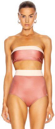 Flagpole Lori Top in Rosegold & Morganite | FWRD