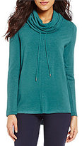 Westbound Petites Cowl Neck Sweatshirt