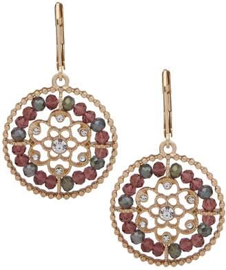 lonna & lilly Goldtone Crystal Drop Earrings