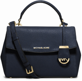 MICHAEL Michael Kors Women's Ava Satchel Bag Navy