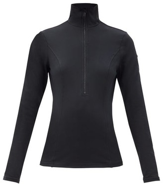 Goldbergh Serena Recycled-fibre Jersey Base-layer Top - Black