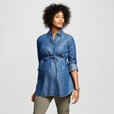 Liz Lange for Target Maternity Tencel Button Down Tunic - Liz Lange® for Target