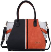 Sally Young Women's Top-handle Cross Body Handbag Middle Size Purse Durable Leather Tote Bag