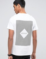 Celio Crew Neck T-shirt with Front and Back Print