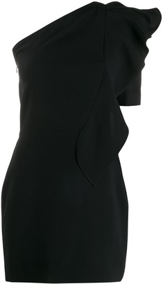 IRO one shoulder mini dress