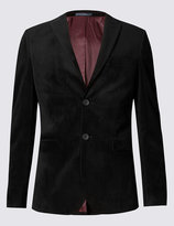 Marks And Spencer Slim Fit Single Breasted 2 Button Jacket