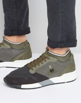 Le Coq Sportif Omicron Trainers In Green 1710508