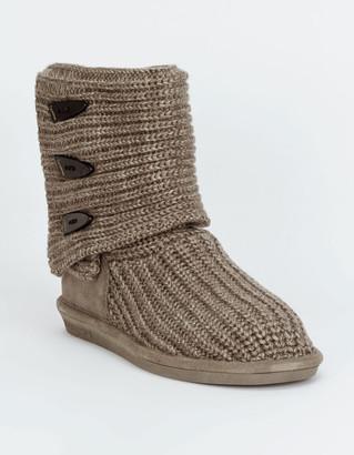 BearPaw Knit Tall Womens Boot