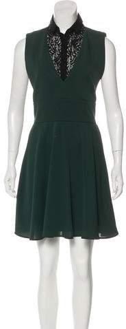 The Kooples Sleeveless A-Line Dress