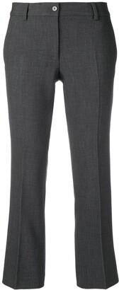 Alberto Biani creased cropped trousers