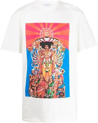 Ih Nom Uh Nit Jimi Hendrix print T-shirt