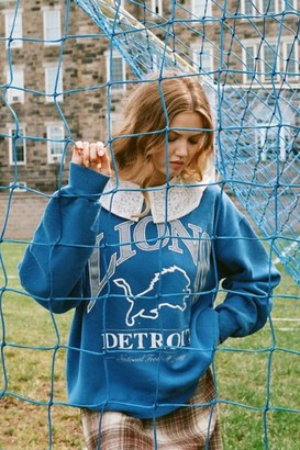 Urban Renewal Vintage Recycled Lace Collar Sweatshirt