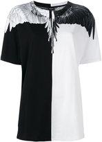 Marcelo Burlon County of Milan block print T-shirt - women - Cotton - S