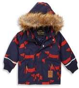 Mini Rodini Baby's, Toddler's, Little Boy's & Boy's Faux Fur Hooded Parka
