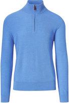 Ralph Lauren Merino-blend Half-zip Sweater
