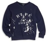 Ralph Lauren Toddler's, Little Boy's, & Boy's Paint Splattered Sweatshirt