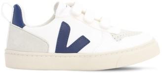 Veja Leather Strap Sneakers