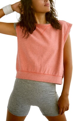 Free People Kick It Sleeveless Sweatshirt
