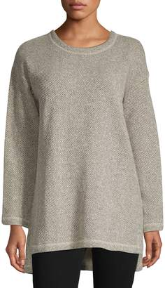 Eileen Fisher Long-Sleeve Tunic Top