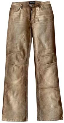 Roberto Cavalli Gold Denim - Jeans Trousers for Women